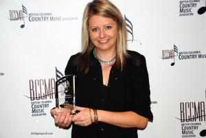 Kirby Barber at 2015 BCCMA Award
