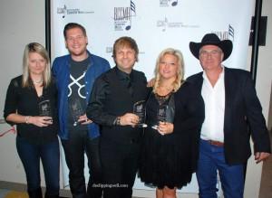 Jackson Hollow at the 2015 BCCMA Awards